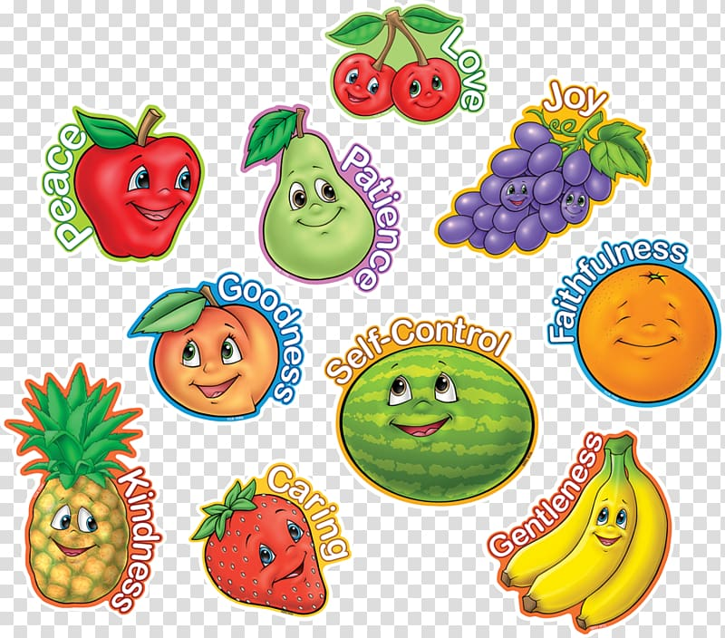 Seven juice clipart clip art free library Bible Fruit of the Holy Spirit Seven gifts of the Holy ... clip art free library
