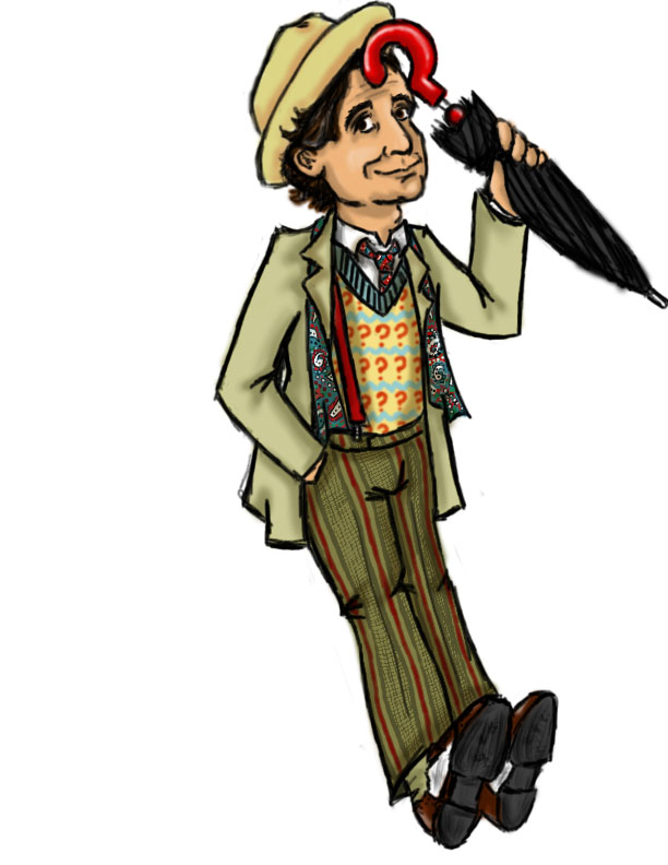 Seventh doctor clipart png black and white library Clipart library: More Like Custom 7th Doctor by DarkAngelDTB ... png black and white library