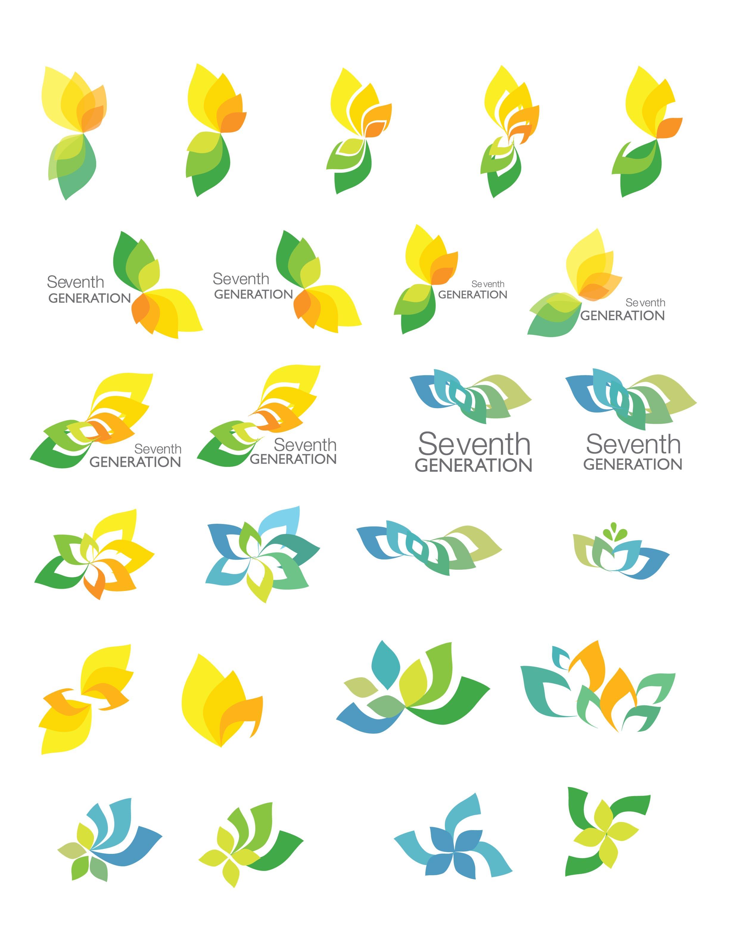 Seventh generation logo clipart clip art royalty free download The Seventh Generation Logo Redesign: Part 2— Exploring ... clip art royalty free download