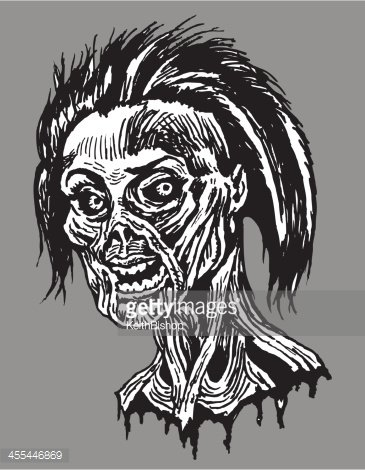 Severed head clipart clipart free Zombie Girl Severed Head stock vectors - Clipart.me clipart free