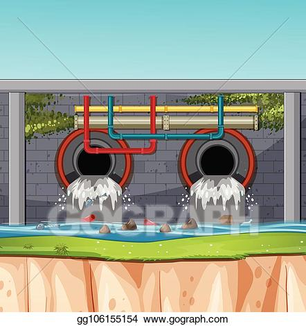 Sewer tunnel clipart png transparent stock Vector Art - A sewage tunnel scene. Clipart Drawing ... png transparent stock