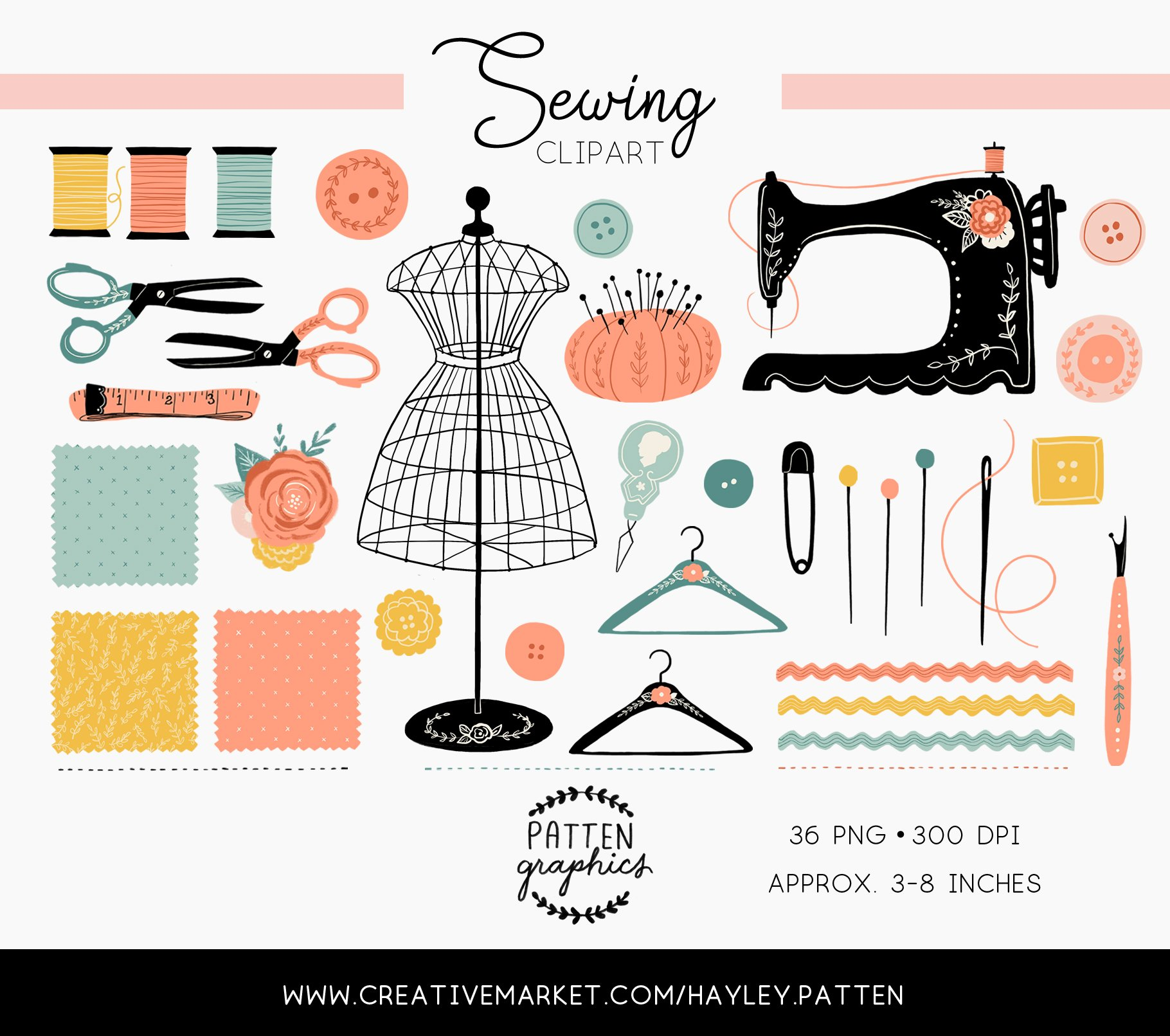 Sewing day clipart picture royalty free library Vintage Antique Sewing Clipart picture royalty free library
