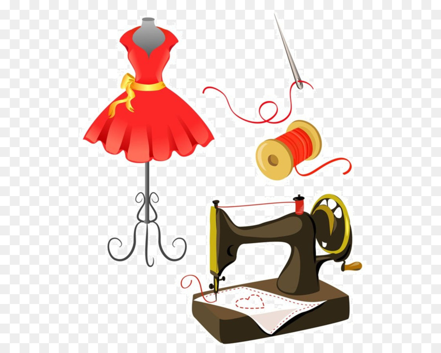 Sewing day clipart picture free download cucito clipart Sewing Machines Clip art clipart - Clothing ... picture free download
