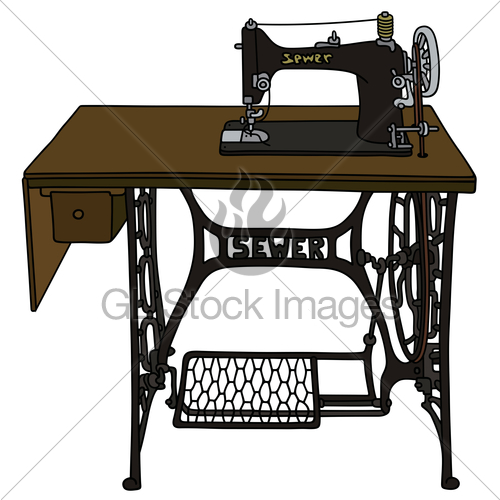Sewing day clipart banner royalty free stock Sewing Machine Day Clipart #316732 - Clipartimage.com banner royalty free stock
