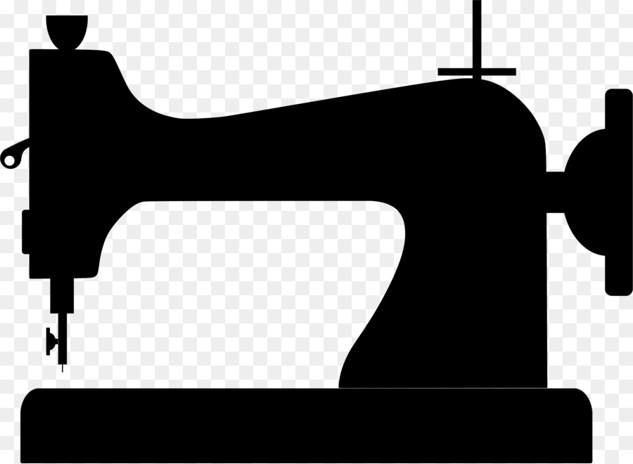 Sewing machine images clipart clip transparent stock Black Line Background clipart - Sewing, Graphics, Black ... clip transparent stock