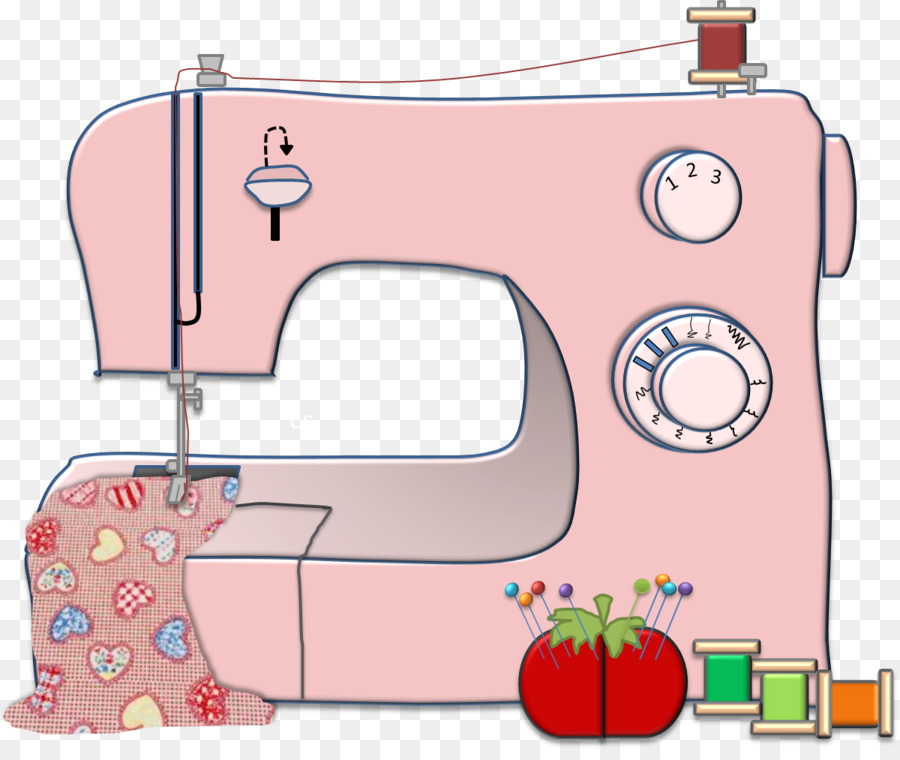 Sewing machine images clipart image royalty free Pink Background clipart - Sewing, Pink, Product, transparent ... image royalty free