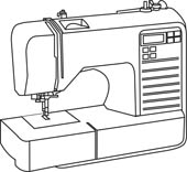 Sewing machine outline clipart png royalty free Search Results for sew - Clip Art - Pictures - Graphics ... png royalty free