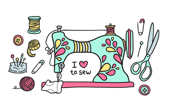 Sewing patterns clipart vector 17 Best images about Sewing on Pinterest | Royalty free stock ... vector