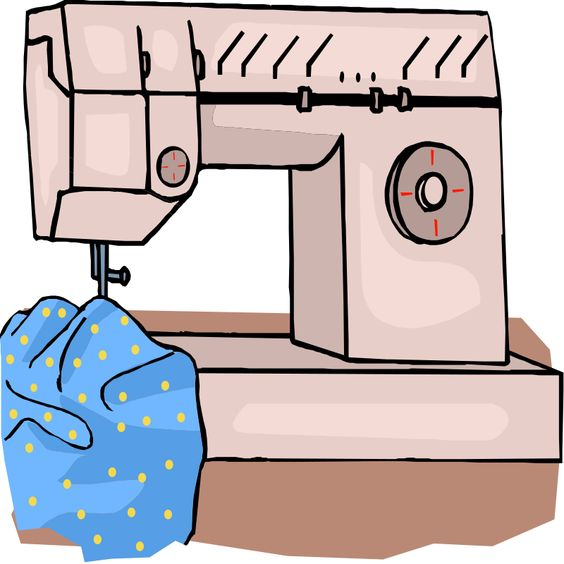 Sewing patterns clipart svg royalty free library Sewing machine Clipart | Sewing Free Printables Patterns ... svg royalty free library