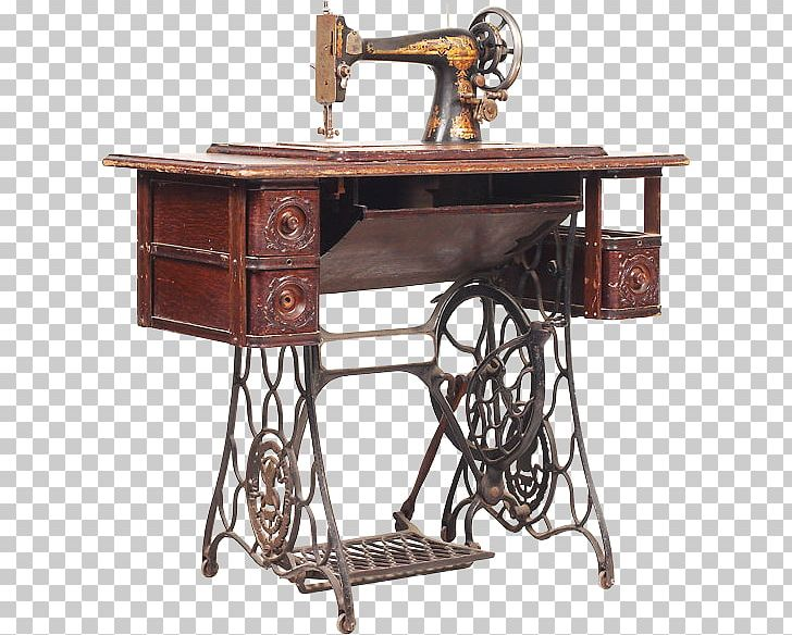 Sewing table clipart svg free download Sewing Machines Singer Corporation Treadle Table PNG ... svg free download