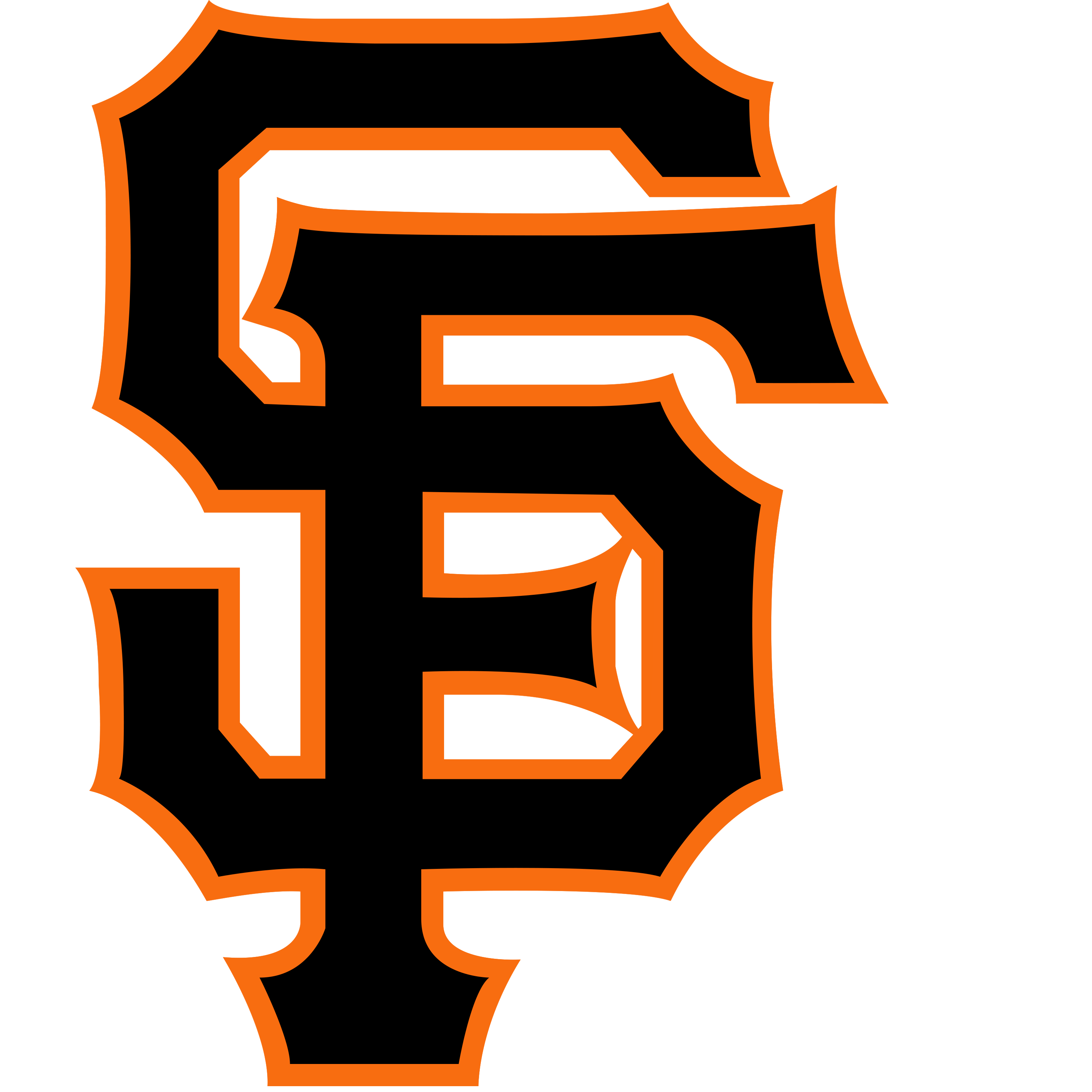 Sf giants baseball clipart image library Gameday Thread 3/28/14: A's (Chavez) at Giants (Lincecum) (7:15 ... image library