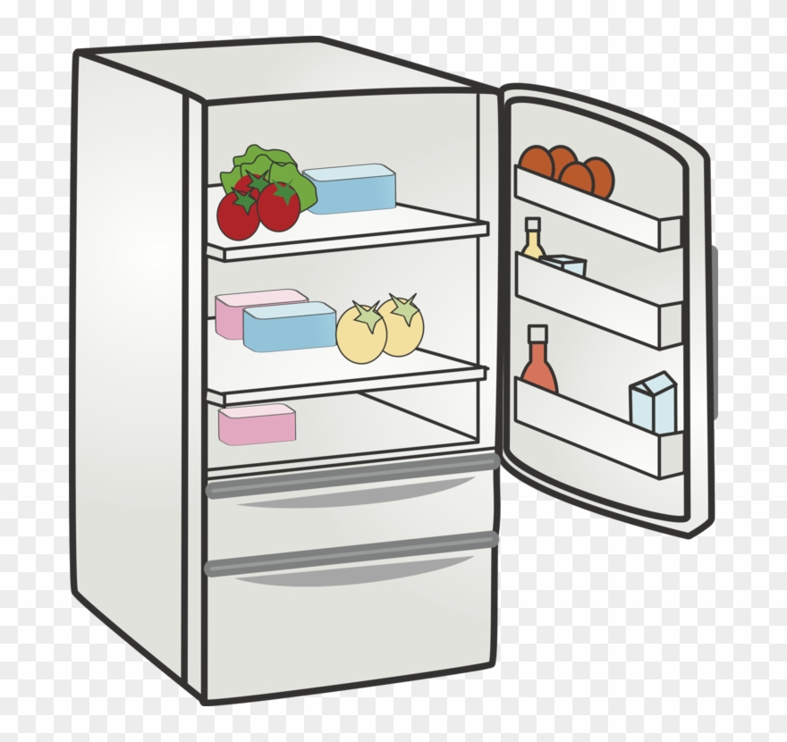 Sfridge clipart clip art black and white library Refrigerator Clipart Png - Free Clip Art Fridge Transparent ... clip art black and white library