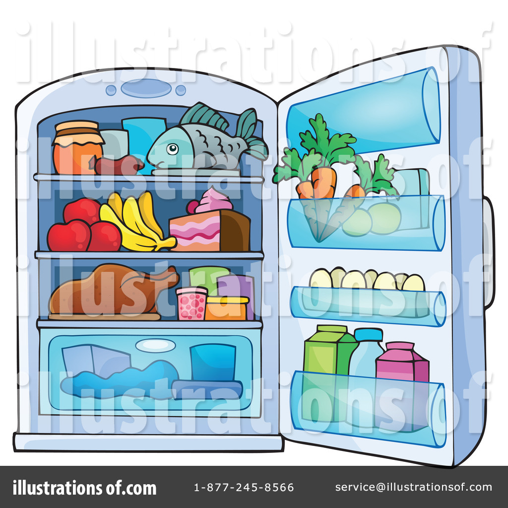 Sfridge clipart png library Fridge Clipart #1266804 - Illustration by visekart png library