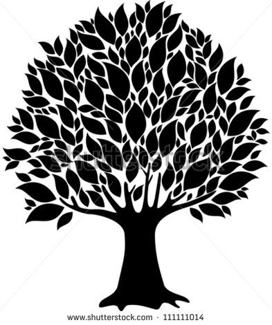 Sgrafitto clipart tree vector library download Tree Silhouette Black Stock Photos, Images, & Pictures ... vector library download