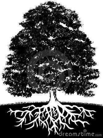 Sgrafitto clipart tree clip art library stock Roots run deep   Smile   Tree roots, Roots, Clip art clip art library stock
