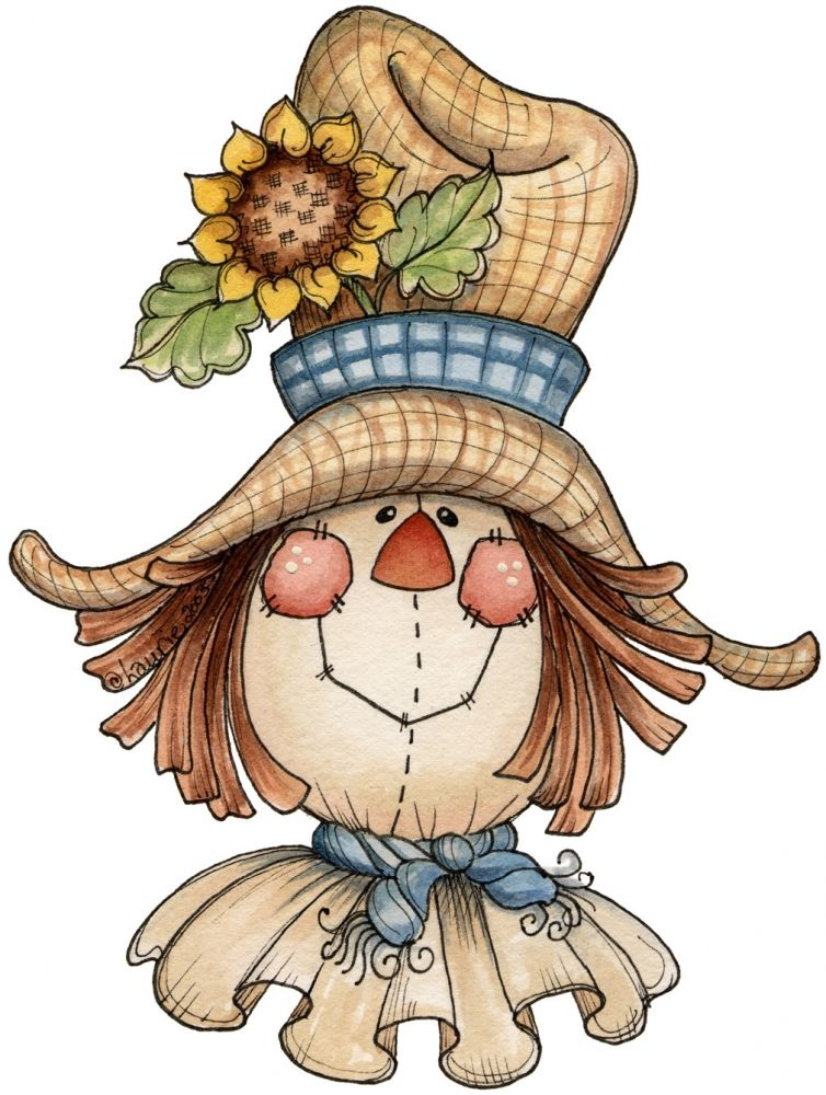 Shabby fall clipart image free stock another scarecrow face inspiration for light bulbs | Light ... image free stock