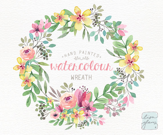Shabby floweral wreath clipart clip art library Floral Wreath PNG Transparent Floral Wreath.PNG Images ... clip art library