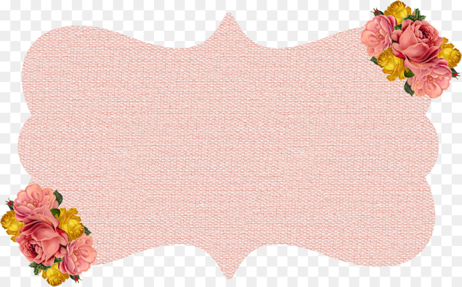Shabby frame clipart picture library library Pink Flower Cartoon png download - 1216*756 - Free ... picture library library