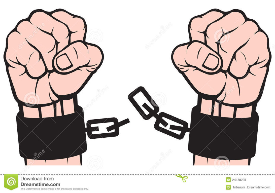 Shackles breaking clipart vector freeuse Gold Chain Transparent Background Hands In Chains Clipart ... vector freeuse