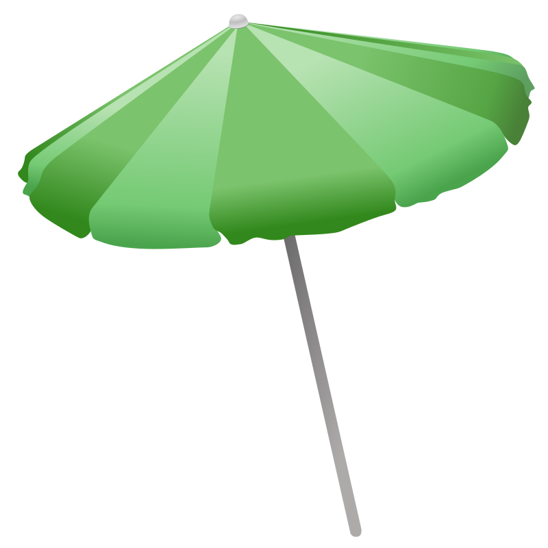 Shade from sun clipart image black and white library Clipart - Beach Umbrella image black and white library