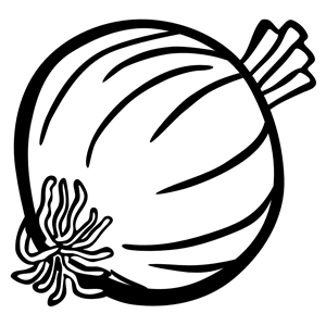 Shading clipart banner black and white library Onion w/o shading clipart, cliparts of Onion w/o shading ... banner black and white library