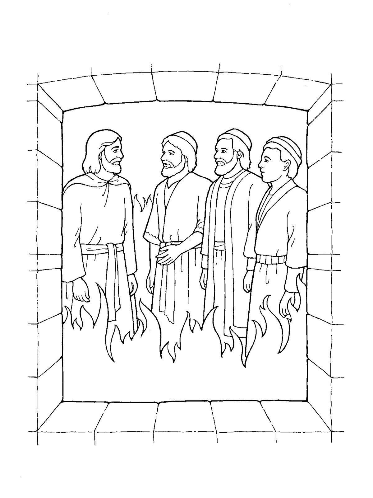 Shadrach clipart jpg freeuse download shadrach, meshach and abednego black and white clipart ... jpg freeuse download