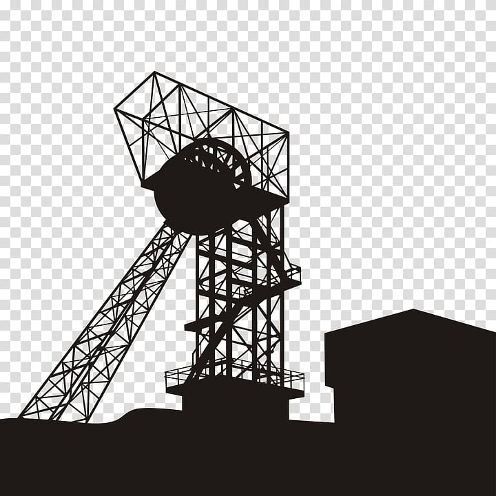 Shaft clipart clip freeuse library Coal mining Shaft mining , coal transparent background PNG ... clip freeuse library