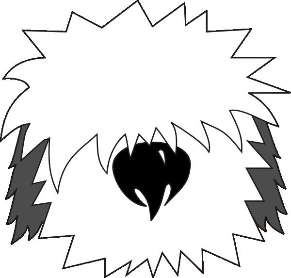Shaggy dog clipart free download Shaggy Dog Head Clip Art at Clker.com - vector clip art online ... free download