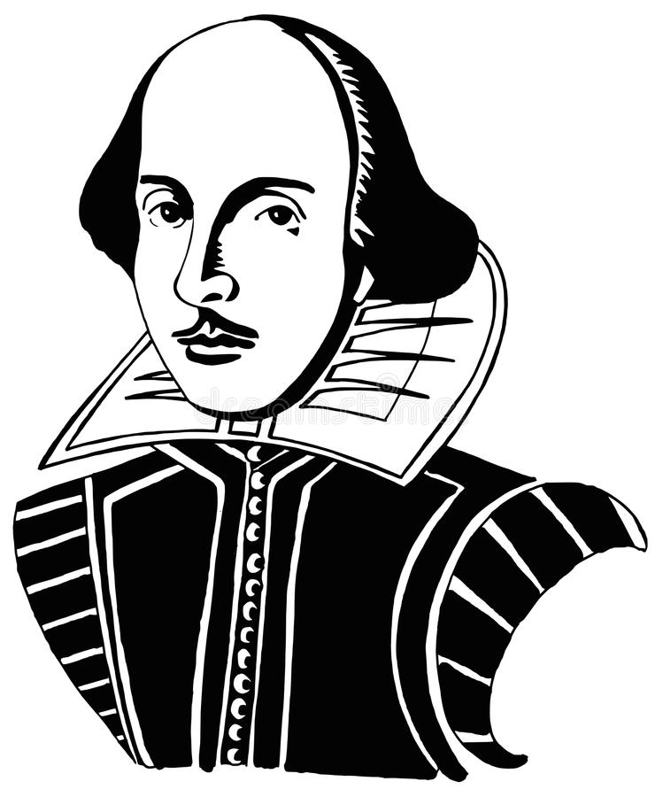 Shakespeare face clipart vector transparent download Springtime for Shakespeare in travels near and wide – Prince ... vector transparent download