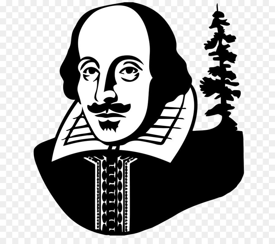 Shakespeare face clipart jpg black and white download Book Black And White png download - 742*798 - Free ... jpg black and white download