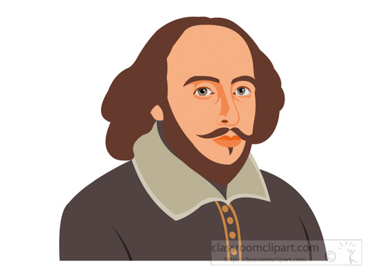 Shakespeare face clipart svg library download Great writer william shakespeare clipart » Clipart Station svg library download