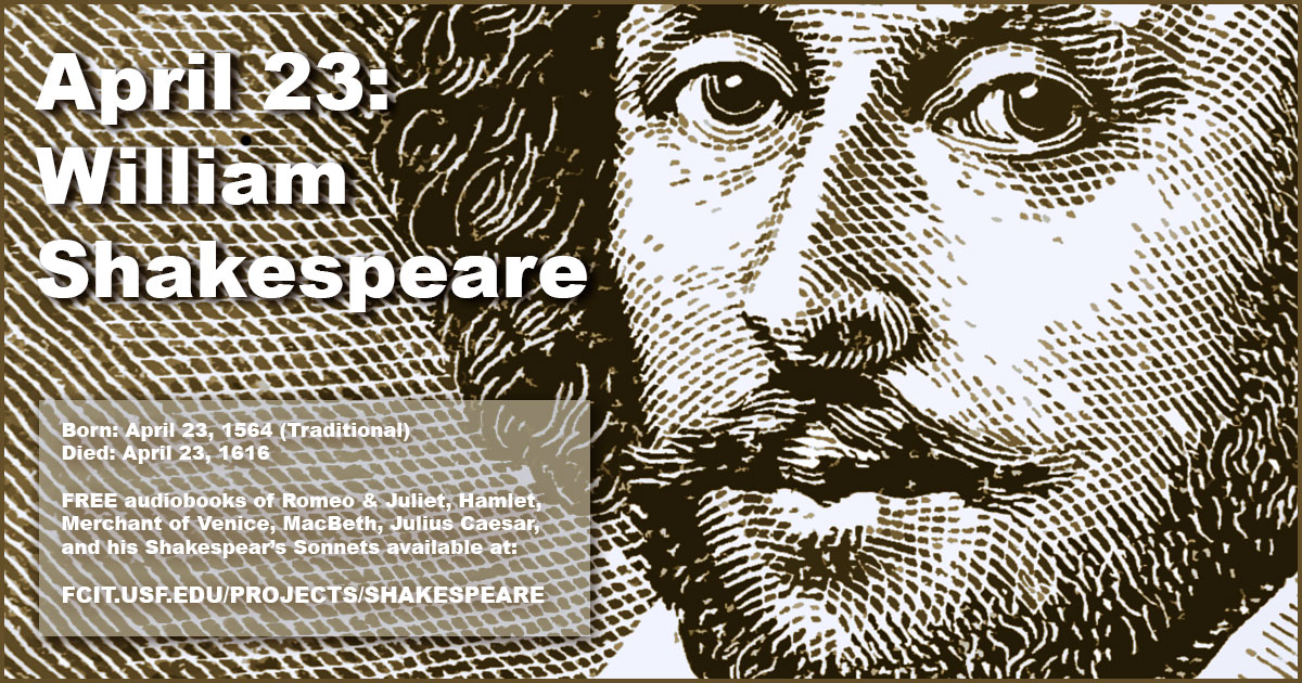 Shakespearian time clipart clipart black and white download April 23: William Shakespeare | FCIT clipart black and white download