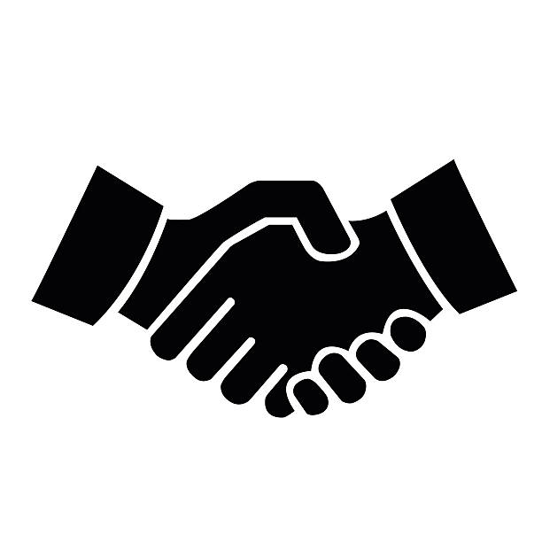 Shaking hands clipart images image transparent library Top Shaking Hands Clip Art Vector Graphics And Illustrations ... image transparent library