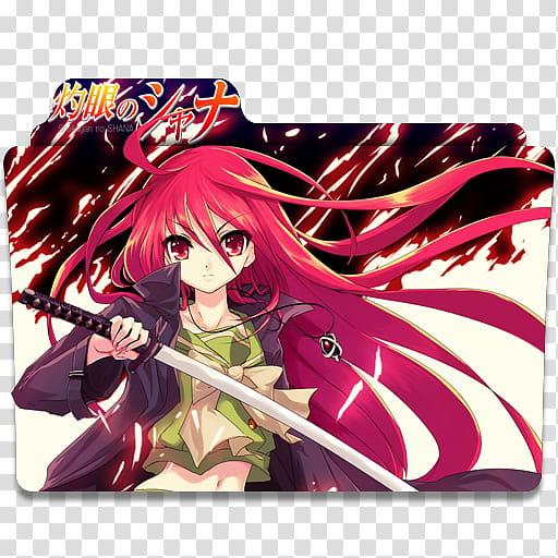 Shakugan no shana clipart jpg free stock Anime Icon , Shakugan no Shana v transparent background PNG ... jpg free stock