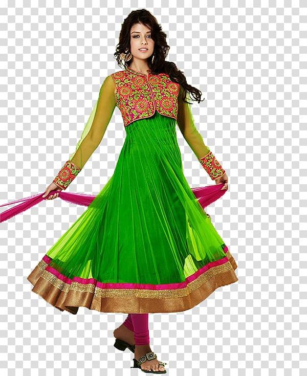 Shalwar kameez clipart clipart transparent download Woman turning around, Frock Party dress Shalwar kameez ... clipart transparent download