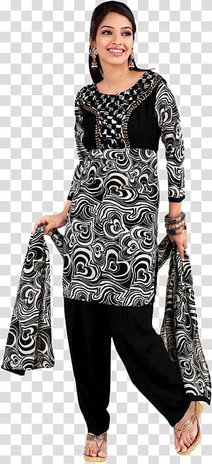 Shalwar kameez clipart vector library library Dupatta Dress Fashion design Pattern, kameez transparent ... vector library library