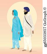 Shalwar kameez clipart jpg free Salwar Kameez Clip Art - Royalty Free - GoGraph jpg free