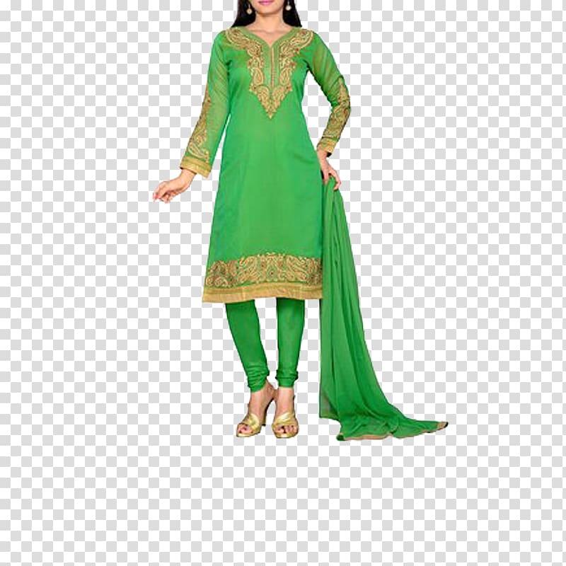 Shalwar kameez clipart clip black and white download Churidar Shalwar kameez Kurta Suit Pajamas, suit transparent ... clip black and white download