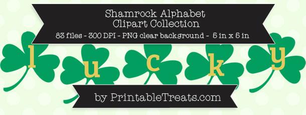 Shamrock alphabet letter clipart svg freeuse Shamrock alphabet letter clipart - ClipartNinja svg freeuse