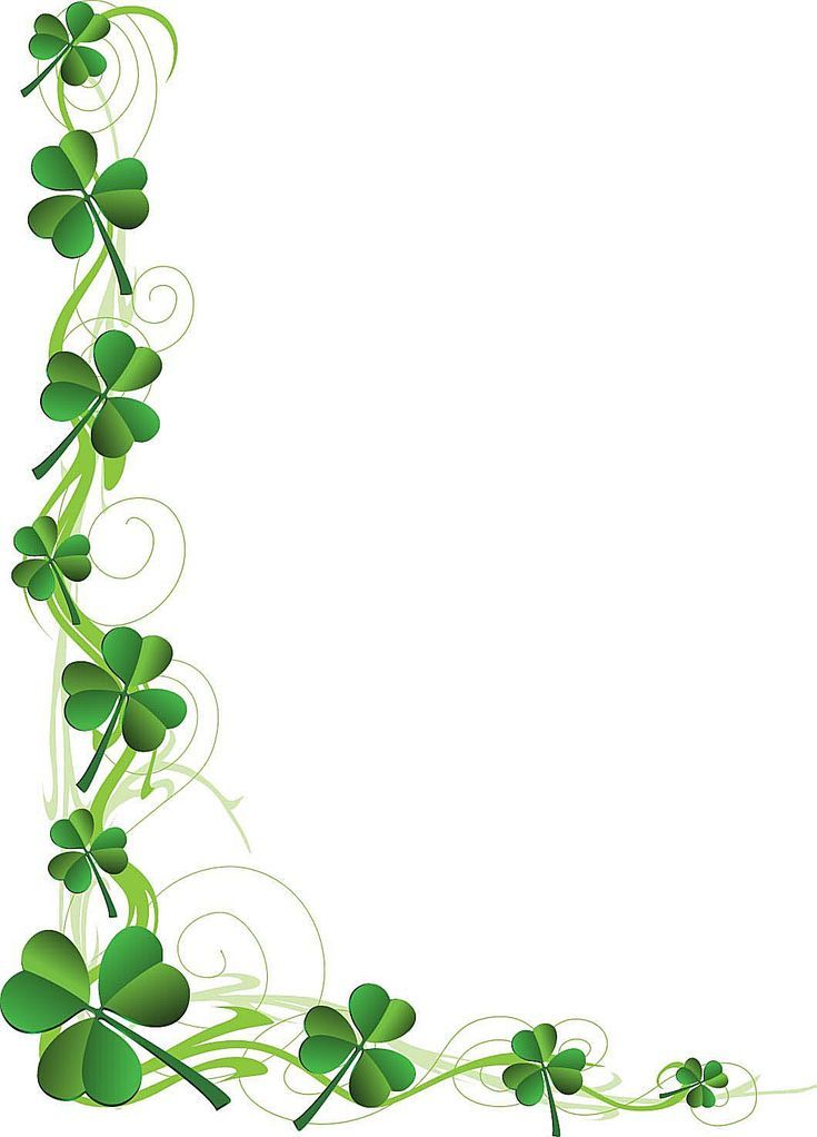 Irish clipart borders free
