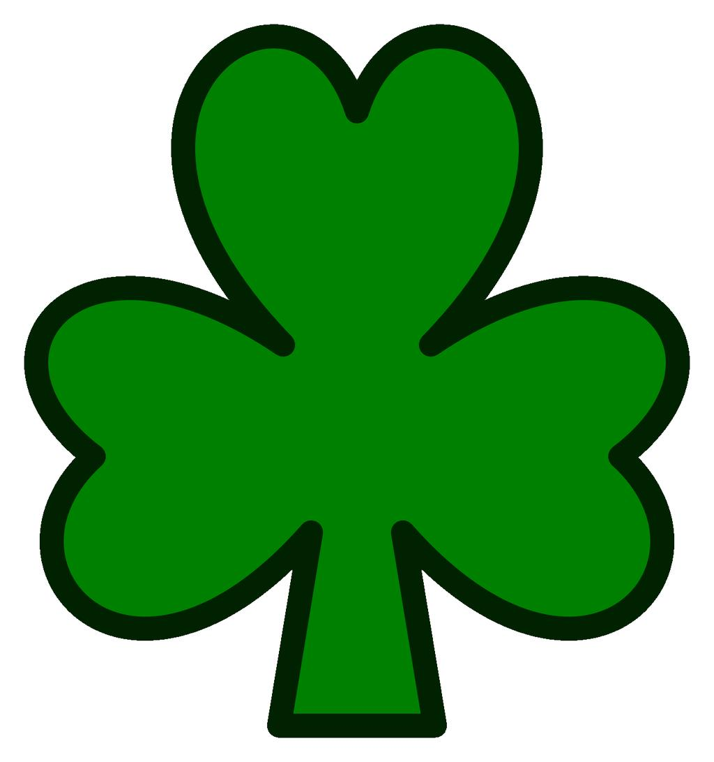 Shamrock clipart photos vector transparent library Free Shamrock Clipart Images Pattern Free - Clipart1001 ... vector transparent library