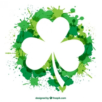 Shamrock clipart vector free svg royalty free Shamrock Vectors, Photos and PSD files | Free Download svg royalty free