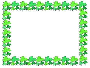Shamrock frame clipart p svg royalty free library Shamrock clipart border 1 » Clipart Portal svg royalty free library