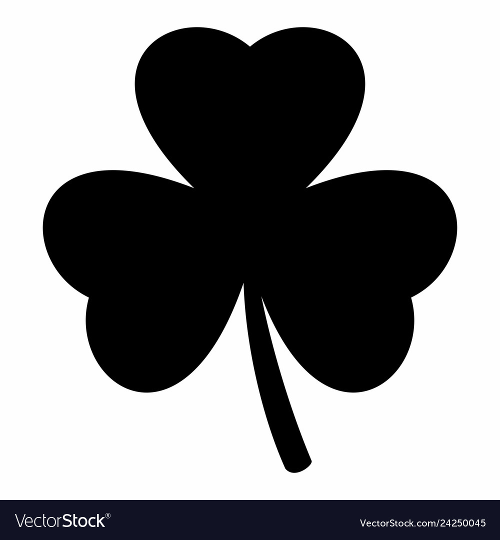 Shamrock silhouette clipart vector free download Shamrock Silhouette Vector Images (over 1,800) vector free download