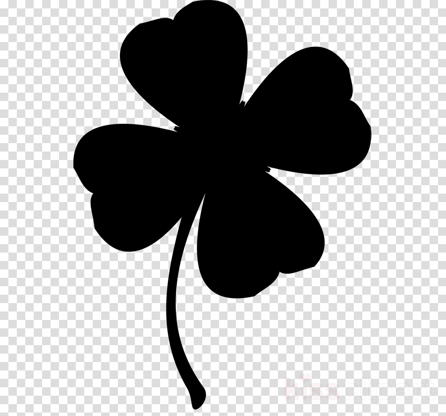Shamrock silhouette clipart jpg free library Saint Patricks Day clipart - Shamrock, Drawing, Silhouette ... jpg free library