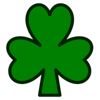 Shamrock w a face clipart transparent background free stock Download Shamrock Category Png, Clipart and Icons ... free stock