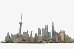 Shanghai clipart clip black and white stock Shanghai china city high rise skyline clipart » Clipart Portal clip black and white stock