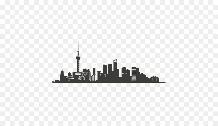 Shanghai clipart svg royalty free download City Skyline Silhouette clipart - Silhouette, Design ... svg royalty free download