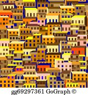 Shantytown clipart png library library Shanty Town Clip Art - Royalty Free - GoGraph png library library