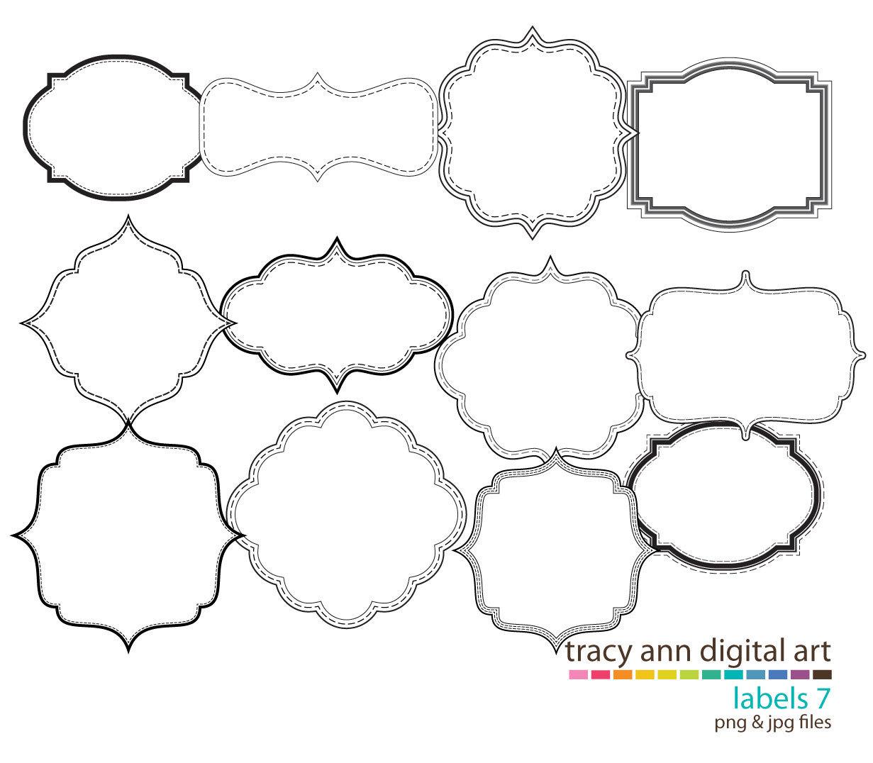 Shape clipart free svg transparent download Free Decorative Shape Cliparts, Download Free Clip Art, Free ... svg transparent download